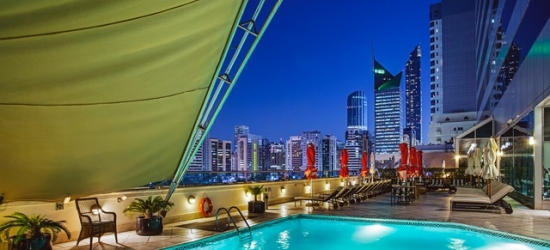 £117 per night   5* opulent Abu Dhabi stay with incredible views, Corniche Hotel Abu Dhabi, UAE