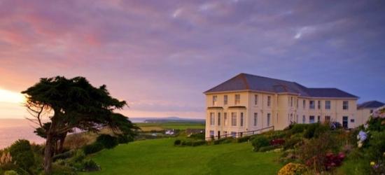 £99 per night | Edwardian hotel on Cornwall's west coast, Polurrian Bay Hotel, Mullion