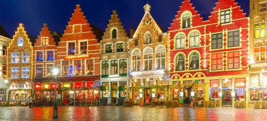 Festive Bruges sojourn escape