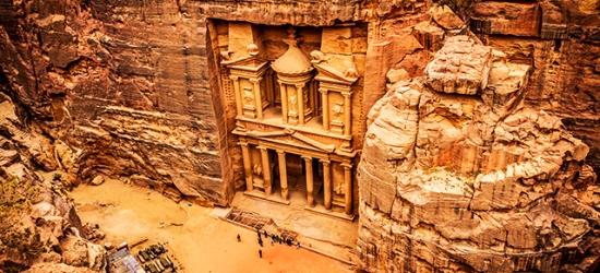 Fascinating Jordan tour with excursions, Amman, Petra & Wadi Rum