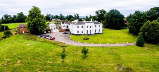 £119 per night | Brooks Country House, Ross-on-Wye, Herefordshire