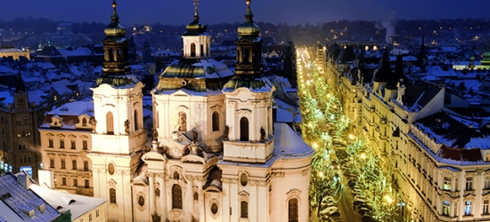 Stylish 5* Prague city break with festive dates