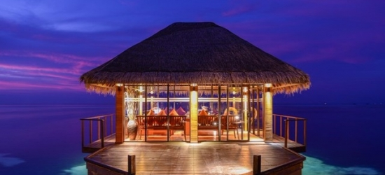 Maldives holiday with airport lounge use
