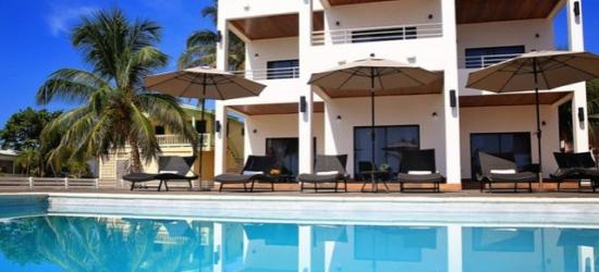 £191 per night   The Ellysian Boutique Hotel, Placencia Village, Belize
