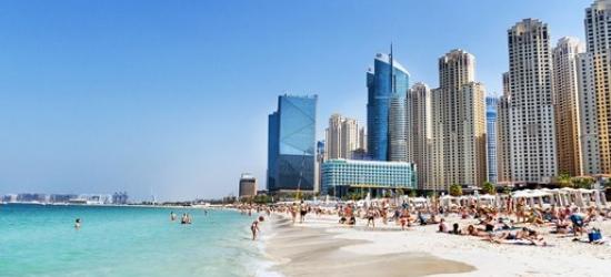 Luxury 3-night Dubai break & meals, save 40%