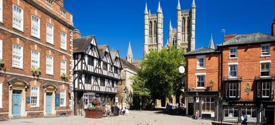 £59 & up -- Lincoln getaway near cathedral, 47% off