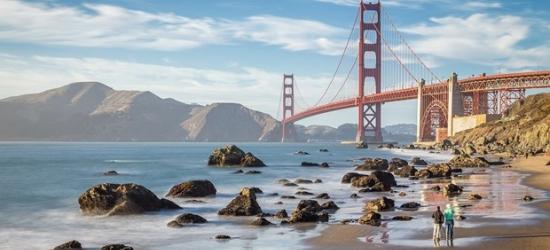 £150-- Visit San Francisco: 4-Star Omni Stay incl. Holiday