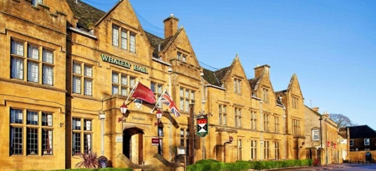 £139 -- 2-night Oxfordshire getaway w/meals & wine, was £232