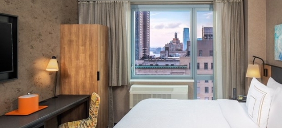 £95 & up -- NYC Downtown Hotel w/Breakfast, 50% Off