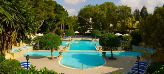 Winter sun at Malta's Leading Spa Resort at the Corinthia Palace Hotel & Spa 5*