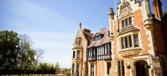 Worcestershire: Double Room for 2 with Breakfast, Dinner on First Night and Prosecco at 4* Wood Norton Hall Hotel