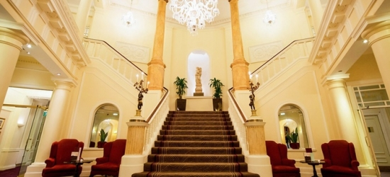 Cardiff: Standard Room for Two with Breakfast, 3-Course Dinner, Wine and Late Check-Out at The Angel Hotel Cardiff