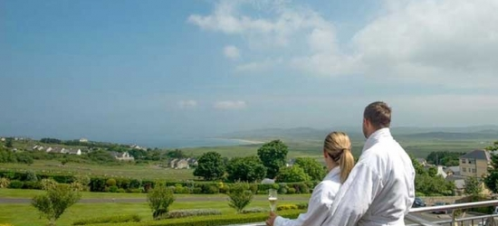 Co. Donegal: 1 or 2 Nights for Two with Breakfast, Leisure Access and Optional Spa Treatment at 4* Ballyliffin Lodge