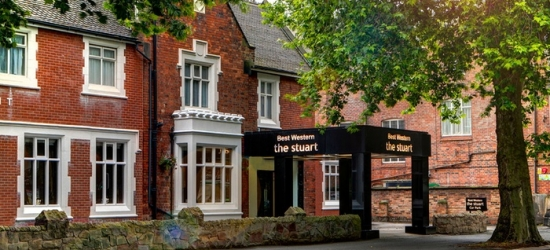Derby: Double Room for Two with Breakfast and Options for Xmas or New Year's Eve Packages at The Stuart Hotel