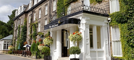 Harrogate: 1-3 Nights for Two with Full English Breakfast, Wine, and Option for Wine at The 4* Old Swan Harrogate