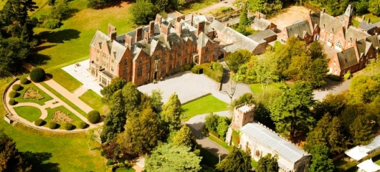 Warwickshire: 1 or 2 Nights for Two with Breakfast, Dinner and Spa Access at 4* Wroxall Abbey Estate Hotel & Spa