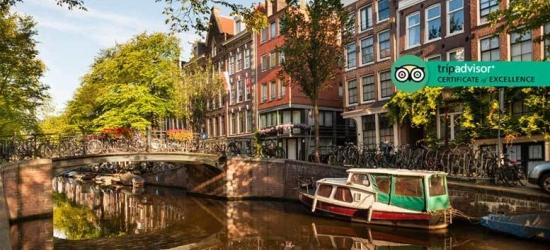 2-3nt 4* Amsterdam Getaway, Ice Bar Fast Track Ticket
