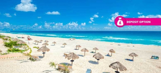 7, 10 or 14nt All-Inc Cancun Stay  - Spring Break Dates!