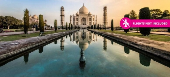 11-Day India Tour, Taj Mahal Visit & 4* Fort Stay
