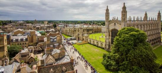 4* Charming Cambridge Break, Breakfast & 3-Course Dinner for 2