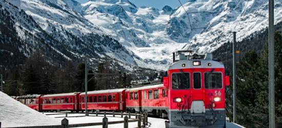 3nt Switzerland Escape with Glacier Express Train