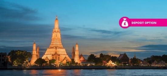 10nt Bangkok, Phuket & Phi Phi Tour, Breakfast, Flights & Ferry