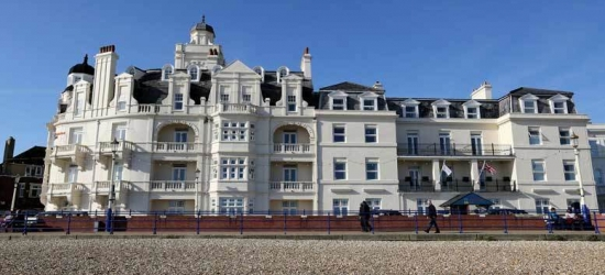Seafront Eastbourne Escape & Breakfast for 2 or 4