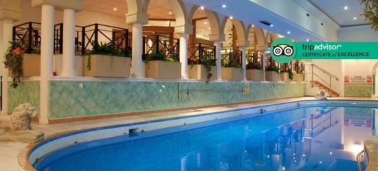 4* Derby Getaway, Dinner, Wine, B'fast & Leisure Access for two