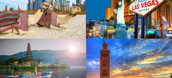 Mystery Getaway - Bali, New York, Dubai, Marrakech & More!