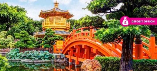 7nt 4* Hong Kong & Macau Tour, Ferry Transfers and Flights