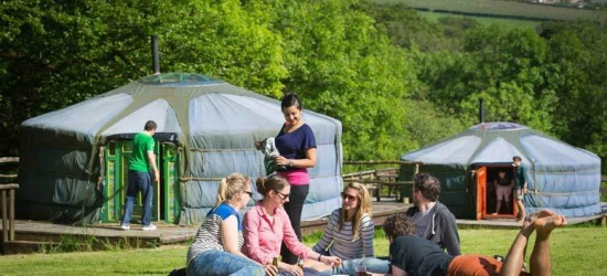 Welsh Yurt Glamping Stay for up to 5 - 3 Or 4 Nights!