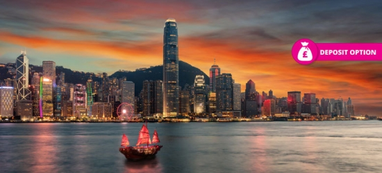 9-12nt Dubai, Hong Kong & Bangkok Adventure + Flights