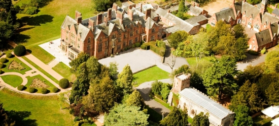 4* Warwickshire Break, Breakfast & Spa Access for 2 @ Wroxall Abbey