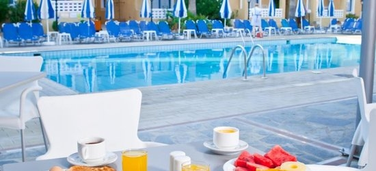 7 nights at the 3* Damon Hotel Apartments, Paphos