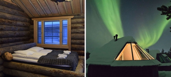 Win a trip to see the Northern Lights in Lapland & stay in an Aurora cabin