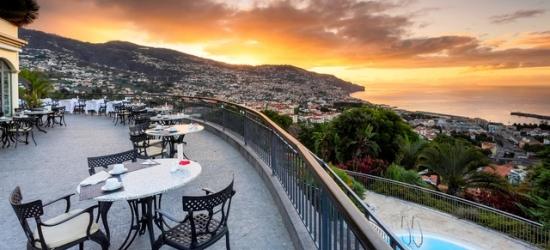 Scenic Madeira holiday at a sleek hillside hotel