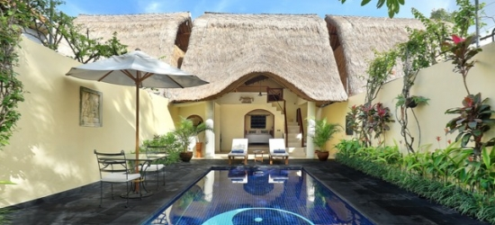 Magical 13nt Bali break with pool villa, dolphin-spotting & temple tour
