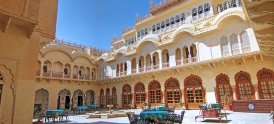 £62 per night | Alsisar Mahal Shekhawati, Rajasthan, India