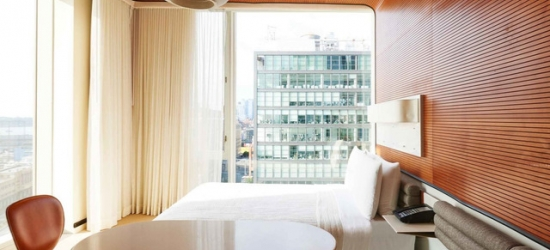 £150 per night | Meatpacking District icon above the High Line, Standard High Line, Meatpacking District, New York