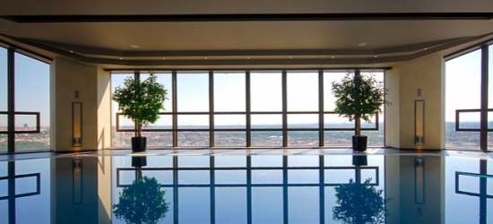 5* hilltop spa hotel near the centre of Prague