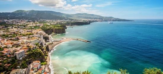 Sublime Sorrento Peninsula break with sea views, Hotel Piccolo Paradiso, Italy