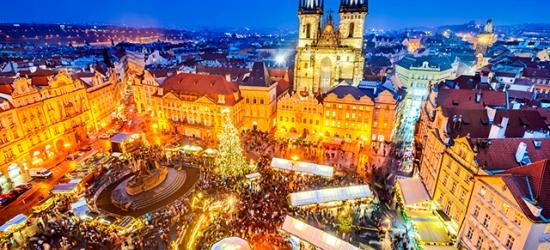 Modern Prague break with Christmas market dates