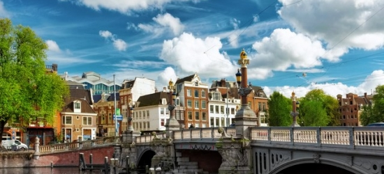 £117 per night | Amsterdam - Ultra modern executive room at the Eden Rembrandt Square Hotel Amsterdam