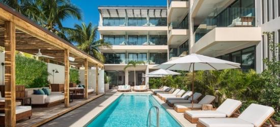 £162 per night | Thompson Beach House, Playa del Carmen, Mexico