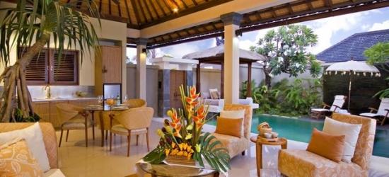 £135 per villa per night | Disini Luxury Spa Villas, Bali, Indonesia