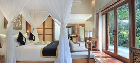 £82 per villa per night | The Sankara Suites and Villas, Bali, Indonesia