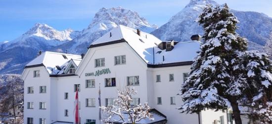 £134 per night | Typically Swiss Hotel Altana, Scuol, Switzerland