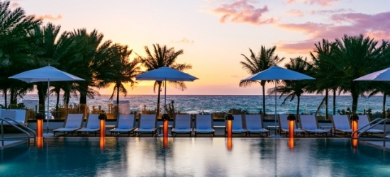 £163 per night   Nobu Hotel Miami Beach, Miami Beach, Florida