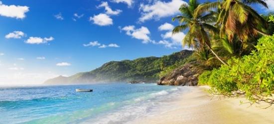 Seychelles: deluxe week & meals, save 40%