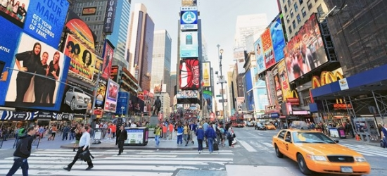 £141 -- NYC: Times Square Hotel incl. Weekends, 55% Off